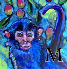 M is for Monkey!