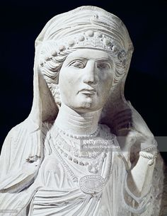 Funerary relief depicting a member of a family, from Palmyra, 2nd- 3rd century, Syria, detail. Roman civilisation, 2nd-3rd century AD. Damascus, Musée National De Damas