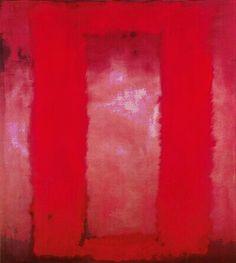Mark Rothko. Red on Maroon.