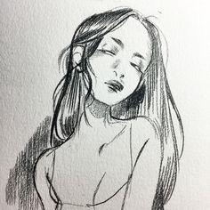 Fantasy Drawings, Art Drawings Sketches, Pretty Art, Cute Art, Leslie Hung, Manga Drawing Tutorials, Grunge Art, Art Folder, Wow Art