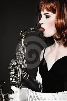 Girl with Sax