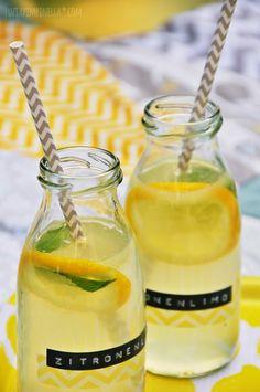 luzia pimpinella | recipe for fresh, homemade lemonade