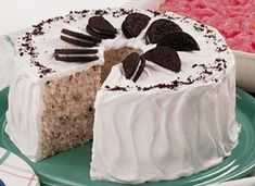 Cookies 'n Cream Angel Cake