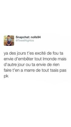 Mdrrr sérieux Bff Quotes, Jokes Quotes, Motivational Quotes, Funny Quotes, Best Tweets, Funny Tweets, Motivation Text, French Quotes, Bad Mood