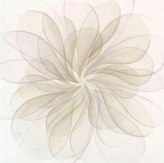 Jan Heaton's Geometric, Organic Watercolors   2Modern Blog