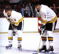Bobby Orr and Phil Esposito | Boston Bruins | NHL | Hockey