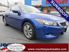 2008 HONDA ACCORD -- With ONLY 62,453 MILES! -- Black LEATHER HEATED Seats! -- UP To 30 MPG! -- Price INCLUDES A 3 MONTH/3,000 Mile WARRANTY! -- CALL TODAY! * 757-424-6404 * FINANCING AVAILABLE! -- Courtesy Auto Sales SPECIALIZES In Providing You With The BEST PRICE On A USED CAR, TRUCK or SUV! -- Get APPROVED TODAY @ courtesyautosales.com * Proudly Serving Your USED CAR NEEDS In Chesapeake, Virginia Beach, Norfolk, Portsmouth, Suffolk, Hampton Roads, Richmond, And ALL Of Virginia SINCE…