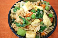 The Garden Grazer: Vegetable Fried Rice (could make with cauliflower)