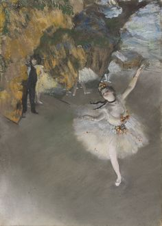 DANCERS on the STAGE Fine Art Print by Edgar Degas Mounted Print Painting Impressionist Impressionism Artist Art Post-Impressionism Ballet by VintagePrintageArt on Etsy Edgar Degas, Monet, Painting Frames, Painting Prints, Art Prints, Degas Dancers, Degas Paintings, Pierre Auguste Renoir, Star Art