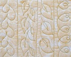 68 Trendy Free Motion Quilting Designs For Sashing Quilting Stencils, Quilting Templates, Longarm Quilting, Quilting Projects, Quilting Ideas, Border Templates, Hand Quilting, Quilting Stitch Patterns, Machine Quilting Patterns