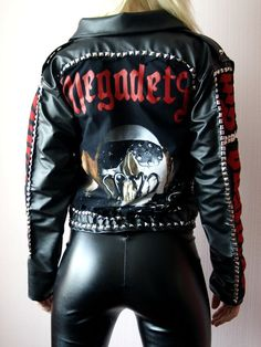 MEGADETH Killing Is My Business jacket by PAINKILLERCLOTHING, £25.00