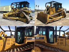 Get Best Deal on just 11800 hours Used, manufactured in 2001 #Caterpillar_D6R LGP #Dozer with Tilt, Draw Bar, EROPS, AC, Differential Steering, Flat Pads, U/C 60 to 70% and many other features. You can get Free Price Quotes by PacWest Trading. It's available for just $79500 in Mesa, AZ, USA at HiFiMachinery.Com