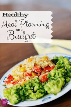 Trying to be frugal and also healthy when it comes to your family's meals can seem difficult. After all, some of the cheapest foods at the grocery store are the junk food right? Check out these healthy meal planning tips and meal planning on a budget! http://www.budgetblonde.com/2015/05/12/healthy-meal-planning-on-a-budget/