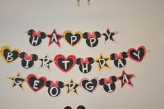Georgia's Mickey and Minnie Party | CatchMyParty.com
