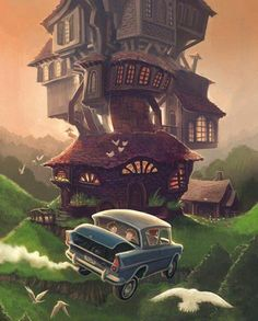 The Burrow- my favourite place in the wizarding world after Hogwarts Fanart Harry Potter, Arte Do Harry Potter, Theme Harry Potter, Harry Potter Poster, Harry Potter Drawings, Harry Potter Wallpaper, Harry Potter Love, Harry Potter Universal, Harry Potter Fandom