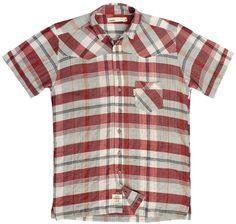 Komodo - Komodo Short Sleeve Austin Shirt - Eco £57.50