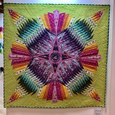 Dream Catcher Quilt by 3 Dog Design Company featuring Tula Pink Spirit Animal