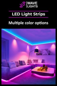 Wave Lights provide with LED light strips that have perks. One of which is an array of colors to choose from. Mix it up to your hearts content! Led Light Strips, Led Strip, Alexa Echo, App Control, Cutting Tables, A Whole New World, Get The Party Started, Gaming Setup, Apartment Interior
