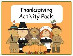 15 Thanksgiving printable activities for prek-Kindergarten focusing on visual discrimination, literacy, and math. Laminate and create centers with these fun hands-on activities or use as cut and paste activities.  What is Included: - Lower case and Upper case vowel practice -Beginning Sound practice -number recognition activity -number quantity activity -counting practice -Shape recognition -Sorting foods and people -Sorting different thanksgiving pictures -visual discrimination- which one…