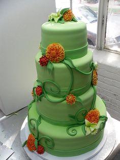 Payton's Wedding Cake by Karen Portaleo/ Highland Bakery, via Flickr