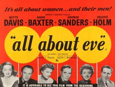 All About Eve (1950) Original British Quad Movie Poster