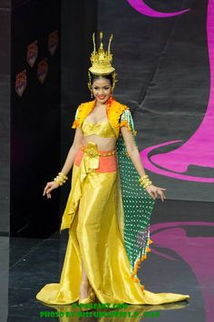 Thai dress costume