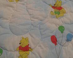 Vintage Winnie the Pooh toddler sleeping bag