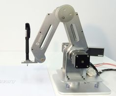 In this instructable project, we will build a laser cut  and soldering Dobot arm. The high precision Dobot arm is made up of 6061 frame and manufactur...