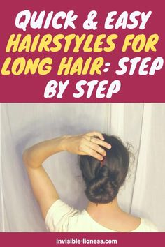 Looking for some updos for long hair and how to do it yourself? These step by step instructions will help! Long Hair Tips, Grow Long Hair, Easy Hairstyles For Long Hair, Vitamins For Hair Growth, Hair Vitamins, Healthy Hair Tips, Healthy Hair Growth, Diy Hair Care, Hair Care Tips