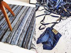 Recycled Fashion: Rag Weaving Inspiration