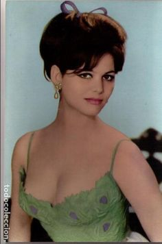Claudia Cardinale, Hollywood Stars, Classic Hollywood, Old Hollywood, Beautiful Celebrities, Beautiful Women, Italian Actress, Italian Beauty, Actrices Hollywood