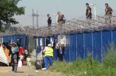 "Image caption                                      Border at Roszke: Hungary plans to build a second fence, citing security concerns                                The Hungarian police are advertising for 3,000 ""border-hunters"", who will reinforce up to 10,000 police and soldiers patrolling a razor-wire fence built to keep migrants out. The new recruits, like existing officers, will carry pistols with live ammunition, and have pepp"
