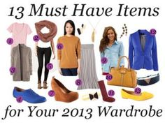 13 Must Have Items for 2013