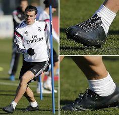 Gareth Bale - Adidas F50 adizero football boots 7c9474821de