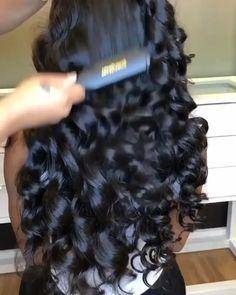 Curly Hair Styles, Natural Hair Styles, Baddie Hairstyles, Body Wave Hairstyles, Sew In Hairstyles, Curly Weave Hairstyles, School Hairstyles, Protective Hairstyles, Summer Hairstyles