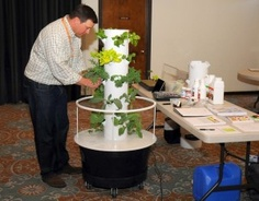 Tower Garden Assembly Make Sure You Order At Anquidawithgreen.juiceplus.com  | Pinterest | Gardens, Hydroponics And Organic Gardening