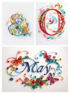 Yulia Brodskaya =paper quilling Like & Repin. & Noelito Flow. Noel Music.                                                                                                                                                     More