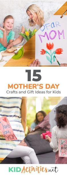 A collection of Mother's Day crafts and gift ideas for kids. These are great cost effective gifts that kids can make for mom. day food crafts 15 Mother's Day Crafts and Gift Ideas for Kids - Kid Activities day food diy day gifts with baby food jars Spring Activities, Holiday Activities, Classroom Activities, Activities For Kids, Mothers Day Crafts For Kids, Crafts For Kids To Make, Homemade Bookmarks, Stationary Gifts, Baby Food Jars