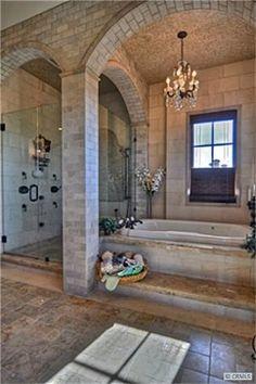 master bath bathroom decorating ideas #decor #bathroom by AnaliCo