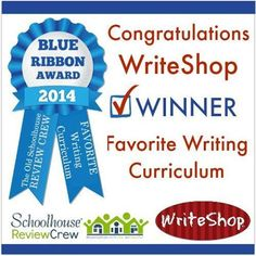 WriteShop | Voted the Schoolhouse Review Crew's favorite writing program for 2014