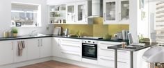 Saponetta White Kitchen Range | Kitchen Families | Howdens Joinery