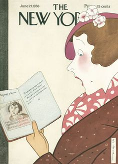 The New Yorker - Saturday, June 27, 1936 - Issue # 593 - Vol. 12 - N° 19 - Cover by : Rea Irvin