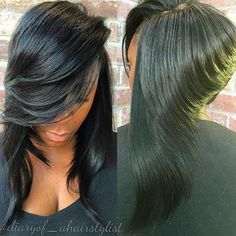 STYLIST FEATURE| Get into this bob✂️ Love this different take on a #lob styled by #DallasStylist @diaryof_ahairstylist ❤️ #voiceofhair