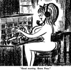 Grove Press cartoon