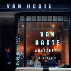 """:  """"Restaurant Van Harte   Amsterdam  """""""