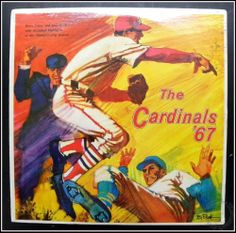 The Cardinals '67, St. Louis Baseball Vinyl Record TSXM 373 Caray & Buck SEALED!