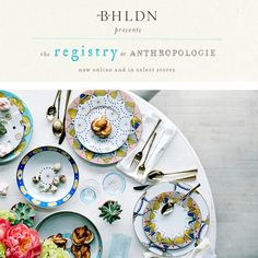 Start your dream wedding registry with @anthropologie
