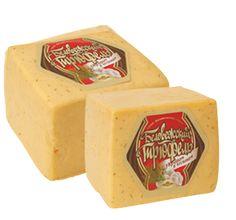trufa de queso de Bialowieza con eneldo y ajo Queso de Bielorusia