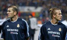 #Beckham and #Zidane