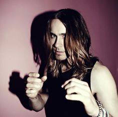 "(Click 3 times on image for HQ) Jared Leto for ""Lady Gunn"" Magazine cover photo.-"